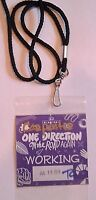 One Direction WORKING Laminate Honda Civic Center- On The Road Again Tour 2015