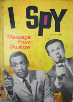 I Spy Message From Moscow 1966 Whitman Book Bill Cosby Brandon Keith