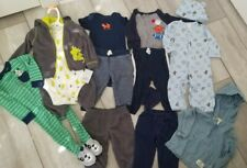 Baby Toddler 9, 9-12, 12 Months Clothes Lot Carter's 14 Pcs Fall/ Winter Euc