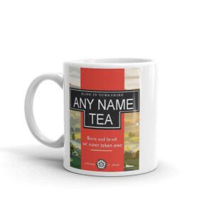 Personalised Custom Yorkshire Tea Mug Cup - Any Name Gift Christmas