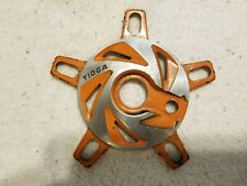 OLD SCHOOL BMX TIOGA ALLOY SPIDER 110 130 BCD FREESTYLE DISC
