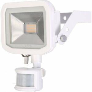 Luceco Guardian Slimline LED 22W Security Floodlight Warm White PIR 1800 Lumens