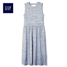 BNWOT GAP GREY STRIPES MIDI DRESS