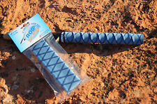 Fishing Rod Handle Heat Shrink X Flock Wrap Tubing by Rod Skins 30mm x 1m Blue