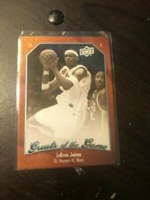 LEBRON JAMES GREATS OF THE GAME UPPER DECK CARD #40 2009-10 CLEVELAND CAVS