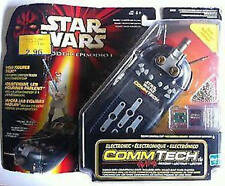 STAR WARS COMM TALK with Chips  EPS 1 ROTS ATOTC  figures episode reader