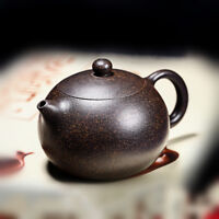 fast shipment marked yixing zisha tea pot pure black galaxy clay xishi pot ball