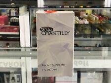 WHITE CHANTILLY EAU DE TOILETTE SPRAY 30 ML (NOS)