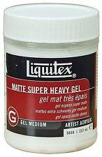 Liquitex Professional Matte Super Heavy Gel Medium, 8-oz