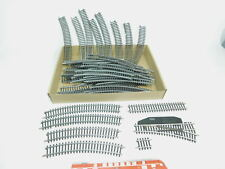bk279-2 #49x MÄRKLIN H0 / AC piezas de vía ( PISTA k ): 2221+2100 etc.,2º
