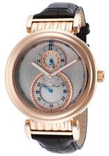 Lucien Piccard Polaris Dual Time Mens Watch 10619-RG-014