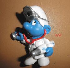SMURFS doctor DR SMURF mini figure 1978 style REISSUE Schleich die schlumpfe toy