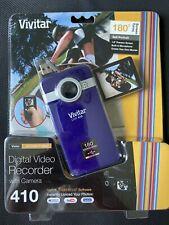 Vivitar DVR-410 Flash Media Digital Camcorder with Camera Purple NEW!
