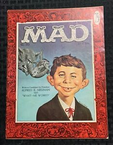 1955 MAD Magazine #30 VG 4.0 1st Alfred E Newman Cover / Fisherman Collection