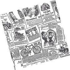 kitchen theme wallpaper rolls sheets ebay 1970s Green Countertops black and white vintage newspaper print wallpaper 11 yd