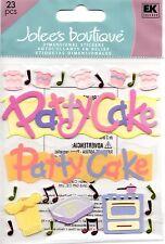 JOLEE'S BOUTIQUE PATTY CAKE DIMENSIONAL STICKERS  BNIP