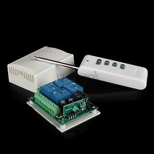 12V 4 Channel Wireless RF Switch Relay Remote Control 315MHz for Light Control
