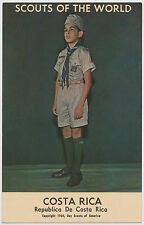 Costa Rica - Scouts of the World - Boy Scouts of America 1964