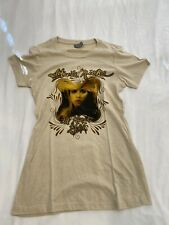 Stevie Nicks 24 Karat Gold 2016 Tour Shirt Size Small 51