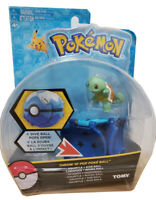 Tomy Pokemon Throw N POP Poke Ball Schiggy Squirtle Carapuce + Dive Ball Figure