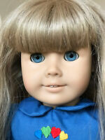 Vintage Pleasant Company American Girl Just Like You RETIRED Blonde Blue eyes