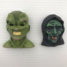 NEW EXCLUSIVE HAUNTED MASK (GOOSEBUMPS) + HALLOWEEN 3 WITCH HORROR MAGNETS
