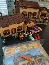 The Simpsons LEGO Set 71006 100% Complete W/box+manual+minifigs