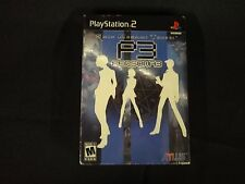 Shin Megami Tensei: Persona 3 with Art Book (PlayStation 2, 2007) New Sealed