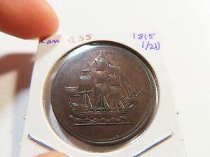 R35 Canada 1815 1/2 Penny Token