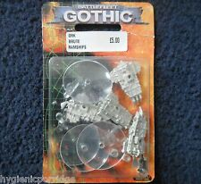 1999 Battlefleet Gothic ORK Nave Pirata Brute RAM ESCORT Games Workshop BFG 40k