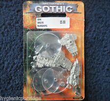 1999 Battlefleet Gothic Barco Pirata bruta Ram Ork escolta Games Workshop BFG 40K