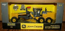 John Deere 872D Road Grader 1/50 Ertl Toy 1st PRODUCTION  60th Anniv High Detail