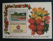 SALON DU TIMBRE 1994 BLOC FEUILLET N°16 timbres 2909/2910 NEUF **
