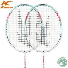 Kason Full carbon Badminton Racket Attack Type Racquet 1 pair Get Strung
