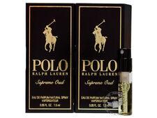 Perfume Vials (Trial Size) ~ Ralph Lauren Polo Supreme Oud 1.5ml EDP x2
