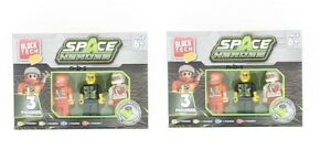 2 Block Tech Space Heroes 3 Figures l COMPATIBLE WITH LEADING BRANDS BRICKS