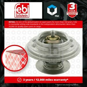 Coolant Thermostat fits MERCEDES 380 R107 W126 3.8 80 to 85 1162000215 Febi New