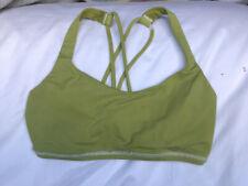 Green Lululemon Free To Be Sports Bra Size 2 (UK4-6)