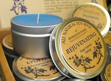 All Natural Soy Wax by Bennington Candle (Good Fortune) - Jasmine, Rose