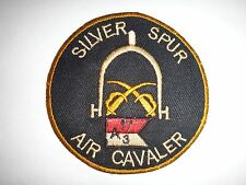 Company A 3rd Squadron 17th Cavalry Regiment SILVER SPUR Vietnam War Patch