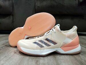 Adidas Adizero Ubersonic 3 Women Sz 9.5 Roland Garros Tennis Shoes Style CM7754