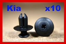 10 Kia wheel arch lining mud guard flap door card panel fastener screw clips