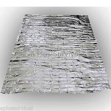 2 Pack Emergency Survival Safety Mylar Solar Blanket Wrap Thermal Escape Shelter