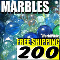 "200 Marble 1/2"" SLINGSHOT AMMO Catapult Ammunition Ball"