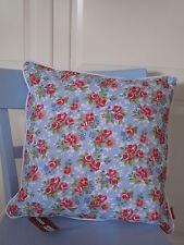 Cotton & Co - Kissen Fresh spring flower - 45 x 45 cm - Rosen - hellblau geblümt