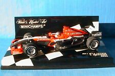 MF1 M16 TOYOTA MONTEIRO 2006 MINICHAMPS 1/43 RACE CAR