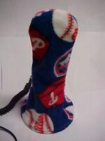 MLB Astatic D104 PHILLIES Cb Ham Radio Microphone cover Mic Holiday Fan Gift