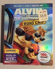Alvin & The Chipmunks, Road Chip Blu Ray Slipcover ONLY•NO MOVIE, NO DISCS READ•