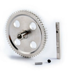 RC 0015 Silver Metal Center Reduction Gear 62T Fit WLtoys 1/12 Rock Climbing