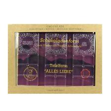 Chocqlate Schokoladen Gießform Schokoladenform Alles Liebe